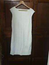 Marc Cain Stretchy Embossed Cream Dress Size N 5