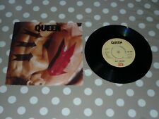 QUEEN - BODY LANGUAGE 7 INCH SINGLE VINYL RECORD 45rpm PICTURE SLEEVE EXCELLENT