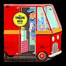 "Vintage 1976 ""The Truck and Bus Book"" Golden Press By Bill Dugan (20 Pages)"