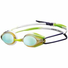 Arena Tracks Mirror Yellow Soft Seals Training Practice Swimming Goggles