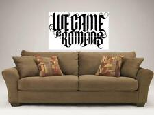 """WE CAME AS ROMANS 35""""X25"""" MOSAIC WALL POSTER KYLE PAVONE"""