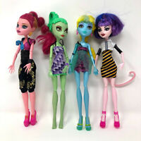 Monster High 4 Dolls Lagoona Blue Wishes Gigi Grant With Shoes