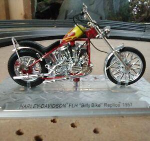 Easy Rider Harley Davidson Billy Boy 1957 Replica Diecast 1/24 Ixo Altaya