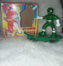 Vintage 1994 Green Ranger Skate Battery Operated Skateboard Action Figure works