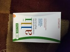 Alli Weight Loss Aid 120 Capsules Refill Pack~Orlistat 60mg-EXP:07/20
