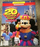 Newsweek Magazine 1991 Fall/Winter Disney World 20 Years of Magic yearlong
