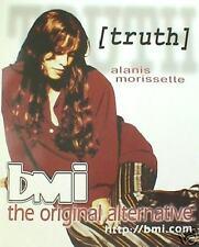 "Alanis Morissette ""Bmi-Truth"" Poster-Canada Female Rock"