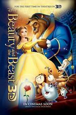 Walt Disney's Beauty and the Beast movie poster   :  11 x 17 inches
