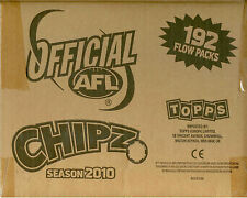 2010 Topps AFL Chipz Factory Case ( 8 Boxes x 24 packs)