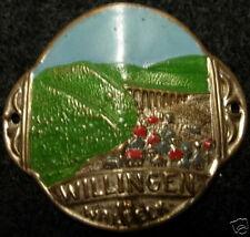 Willingen stocknagel medallion badge G4886