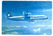 KLM Airlines Lockheed Electra II Postcard