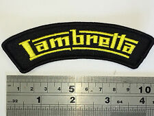 Lambretta FONT Shoulder Flash Patch - Embroidered - Iron or Sew On
