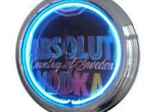 N-0287 Vodka-DECO RETRO NEON Horloge Clock Horloge neonuhr neonclock atelier