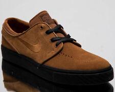 finest selection 94657 8ed99 Nike SB Zoom Stefan Janoski Size 11.5 British Tan Brown Black Skate 333824  218
