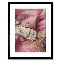 Helen Beatrix Potter The Mice Stitching Button-Holes Framed Art Print 9x7 Inch
