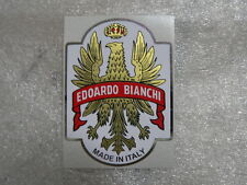 1 sticker head badge for racing bikes Bianchi - vintage