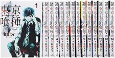 TOKYO GHOUL Vol.1-14 Full Set Japan Anime Comic Manga Book Used YOUNG JUMP