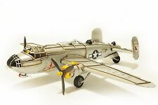 Handmade North American B-25 mitchell 1:40 Tinplate Antique Style Metal Model