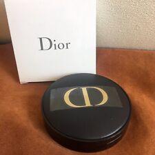 "NEW Authentic DIOR ""Gold CD""  Black Makeup Mirror Handbag VIP Gift NIB"