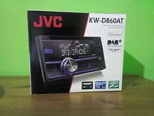 JVC KW-DB60AT Double Din Car Stereo DAB Tuner Cd Front USB Charger Remote