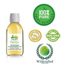 Organic Passion Flower Herb Oil Infusion 125ml UK Post