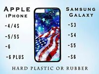 US AMERICAN FLAG JULY 4TH DESIGN Apple iPhone 11 Samsung Galaxy S10 Case Cover