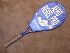 Spalding Tennis Racket Aero Rebel Pro Racquet W/ Cover indoor outdoor sun sports