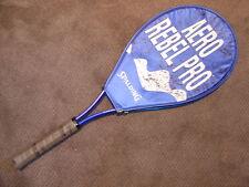 Spalding TENNIS RACKET Aero Rebel Pro Racquet W/ COVER indoor outdoor sun sports