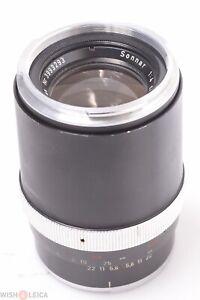 ✅ ZEISS CONTAREX 135MM 4 SONNAR TELEPHOTO PORTRAIT LENS FOR 35MM SLR CAMERA