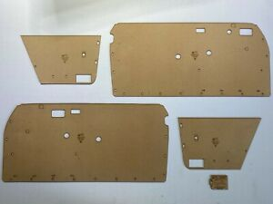 Mercedes-Benz W114 Coupe. Quality Masonite Door Cards, Blank Trim Panels