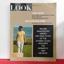 Jackie Kennedy Look Magazine Asia Now Red China Montreals Fair April 4 1967 RARE