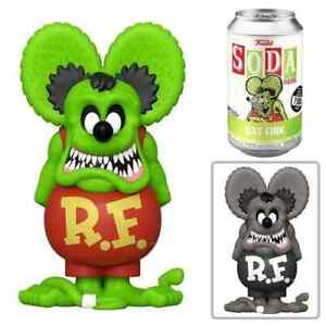 PRE-ORDER Rat Fink - Soda Vinyl Figure + Collector Can Limited To 4000.