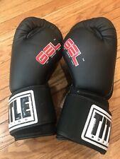Title Boxing Gel Gloves Size Medium M Black & White Model Gfwg2 Excellent