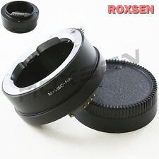 Leica Visoflex M mount VISO lens to Nikon F adapter D3S D4 D800 D300S D600 D5100
