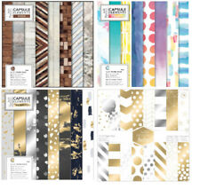 Metallic Cardmaking & Scrapbooking Sheets Paper Papermania
