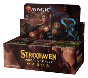 ⭐ Magic the Gathering MTG Cards Strixhaven School of Mages Draft Booster Box  ⭐