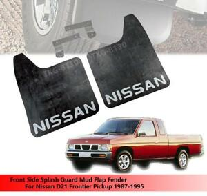 Front Splash Guard Mud Flap Fender For Nissan D21 Frontier Pickup 1987 - 1995