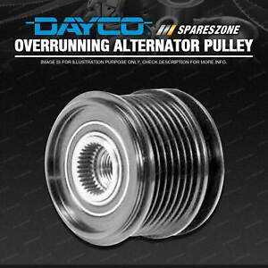 Dayco Overrunning Alternator Pulley for Jeep Commander Grand Cherokee WH