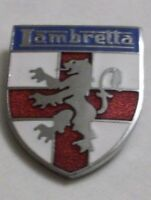 LAMBRETTA ENAMEL LAPEL PIN BADGE CAP BADGE