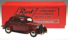 "Brooklin ROD 17, 1948 Ford Pilot Custom Car ""Hot Rod"", red metallic, 1/43"
