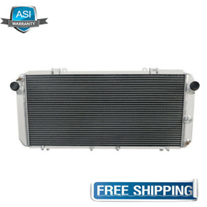 2Row Core Aluminium Radiator For 1989-1997 Toyota Mr2 Mk2 Sw20 Manual