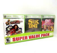 3 Game Burger King Promo - Original Sleaved XBox 360, 3-Game Promo Pack...BBB