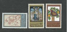 1977 Christmas set of 3  Complete MUH/MNH as Purchased from N Z  Post