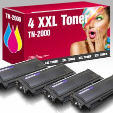 4 Toner kompatibel mit Brother HL 2030 TN-2000