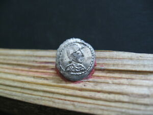 Bust of ROMA & CAMPGATE 330 AD SILVER ROMAN Ar Anonymous 1/3 SILIQUA 0,95 gr.