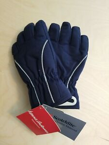 NWT Hanna Andersson KIDS NAVY BLUE GLOVES Insulated S SMALL  3 4 5 6 90 100 110