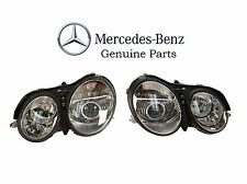 Pair Left & Right Genuine OEM NEW Headlights Mercedes Benz CL500 CL55 CL600 CL65