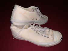 Rare Vintage 80s Jack Purcell Converse Shoes Made In Usa Size 8 Final Price Drop