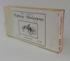 Jordan Highway Miniatures BUCKBOARD NO HORSE  KIT 360 104