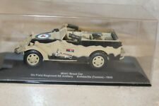 M3A1 Scout car- 5th field regiment NZ Artillery,  tunisie, 1943  1/43e   altaya